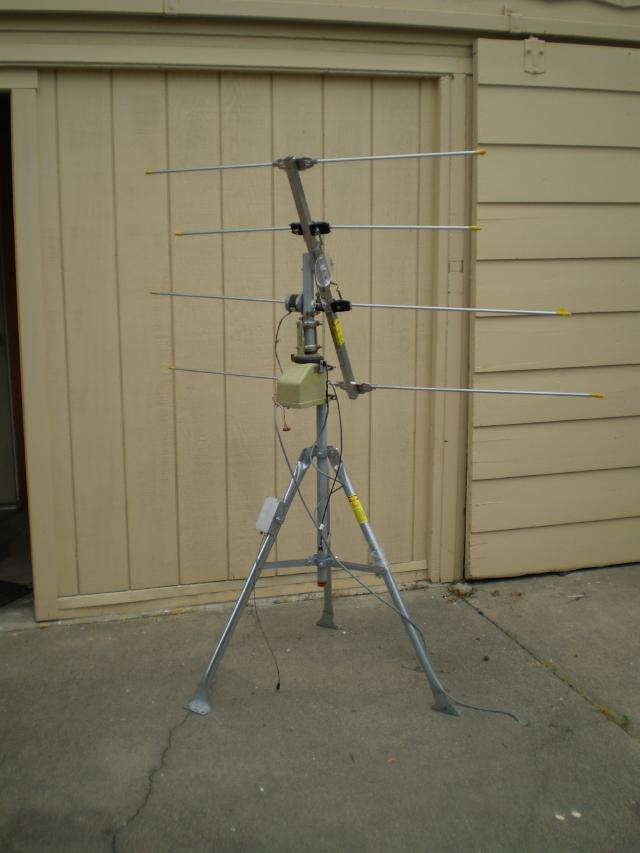 Homemade vhf antenna